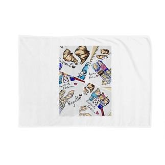 ファッションブレッド Blankets
