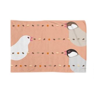 タネマシンガン文鳥 Blankets