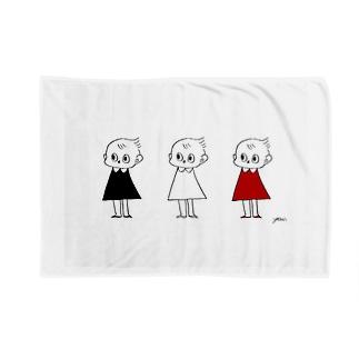 3人のピッちゃん Blankets