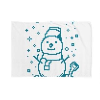 雪だるま Blankets