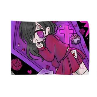 闇堕ちセーラー少女 Blankets
