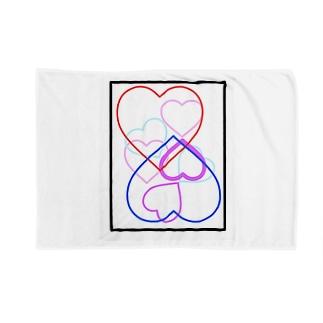 恋人をイメージしたデザイン Blankets