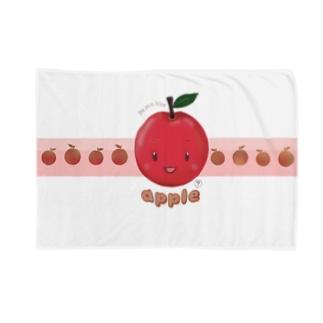 りんごアップル Blankets