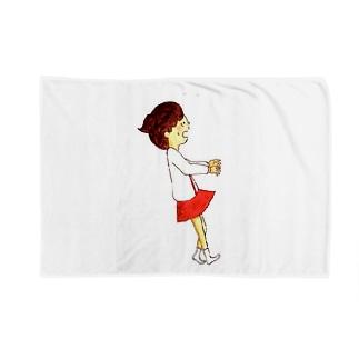 くうちゃん あわあわ Blankets