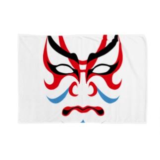 歌舞伎の隈取り Blankets