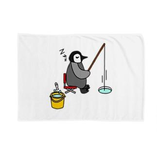 フィッシングペンギン Blankets