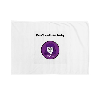Don't call me baby Blankets