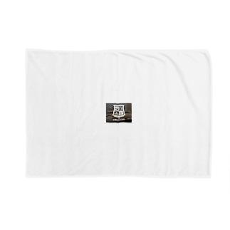白ねこグッズ Blankets