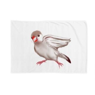 クリーム文鳥 Blankets