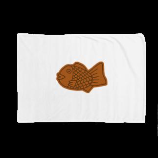 犬田猫三郎のたい焼き Blankets