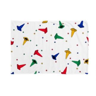 パイロン総柄 Blankets