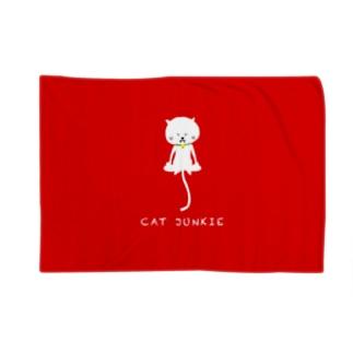 CAT JUNKIE. Blankets