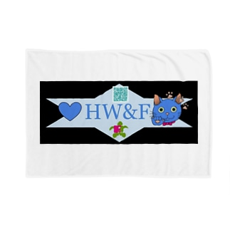 HW&Fの謎QRコード付きデザイン Blankets