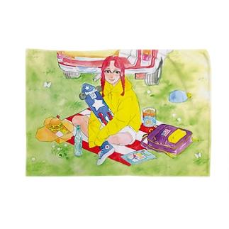 ピクニックちゃん Blankets
