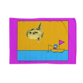 近頃チモのどうぶつシリーズ まんぼう Blankets