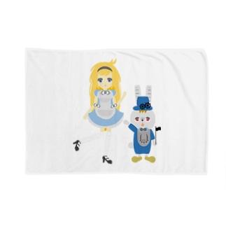 アリス&ホワイトラビット Blankets