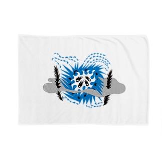 星(blue) Blankets