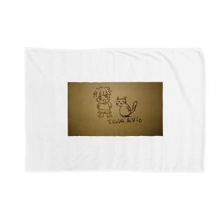 Tsuba&Vio イラストグッズ Blankets