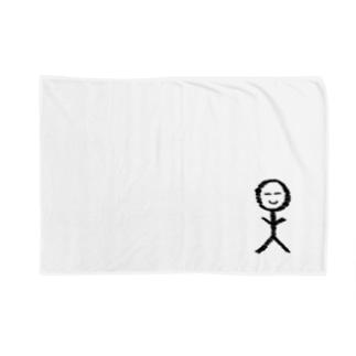 ゆる〜い棒人間くん Blankets