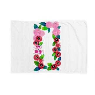 花柄 Blankets