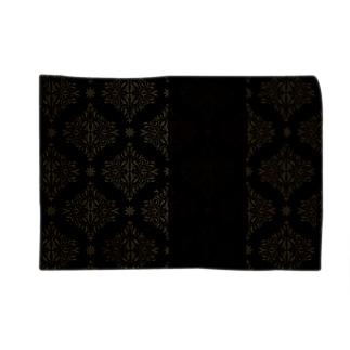 ダマスク柄デザイン Blankets