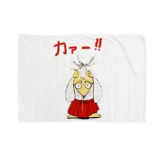 お祓い狐 Blankets