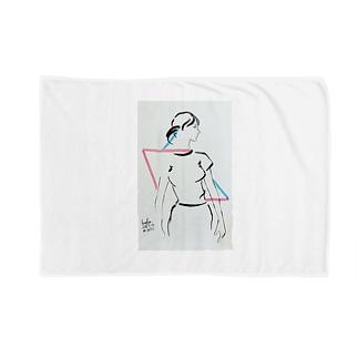 毎日絵ガールズ#1655 Blankets