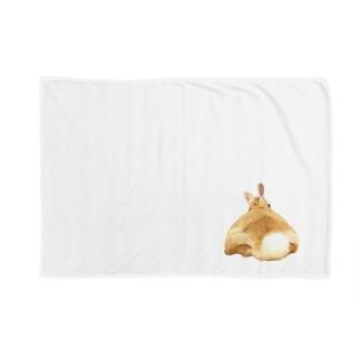おっきなうさけつ(  Ω ) Blankets