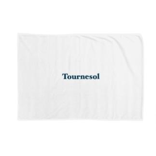Tournesol  logo [blue] Blankets