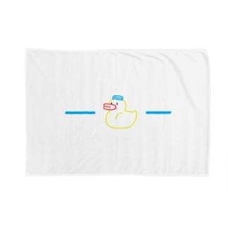 quack2 Blankets