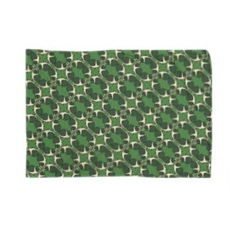 モルモット柄緑 Blankets