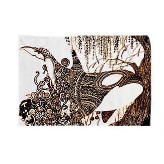 鯱植物図 Blankets
