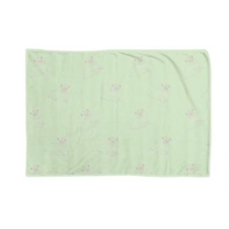 左手で描いた らくがき犬  Blankets