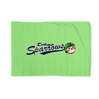 東京Sparrows Blankets