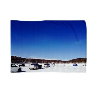 湖での走行会 Blankets