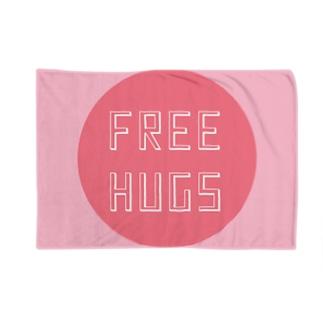 FREE HUGS(フリーハグ)【サークル】 Blankets