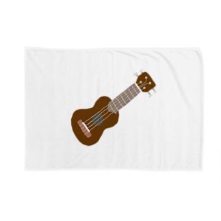 ウクレレ Blankets
