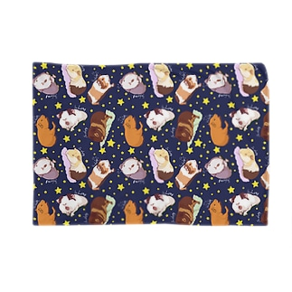 眠いモルモット大集合02 Blankets