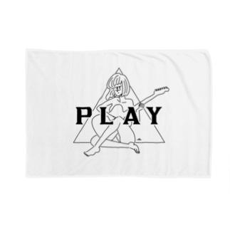 PLAY GIRL/白ボディ推奨 Blankets