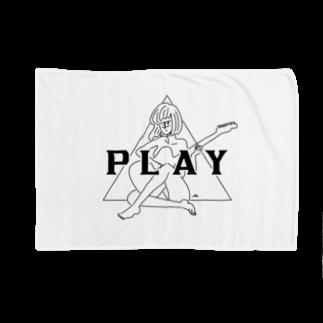 マチダタケルのPLAY GIRL/白ボディ推奨 Blankets