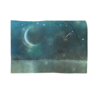 +卵ノ見タ夢+のCrescent moon festival Blankets