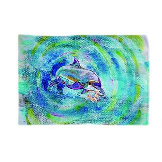 イルカ Blankets