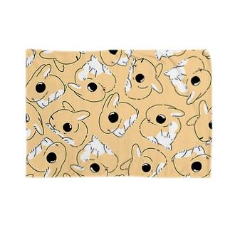 ボクくん's(オレンジ) Blankets