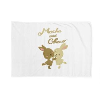 モカとチョコ Blankets