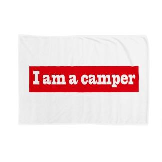キャンプ大好き Blankets