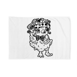 Cɐkeccooのアヒルのファニー(うさぎのラビのお友達) Blankets