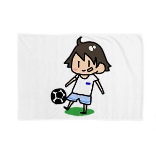 サッカー少年 Blankets