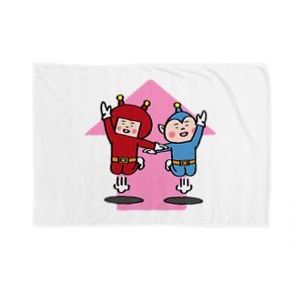 宇宙人パピプペポ Blankets