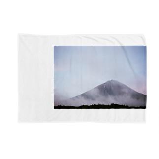 富士と明け方 Blankets