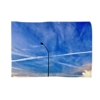 Blue sky  Blankets